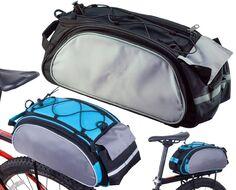 Велосумка RossWheel крепление на багажник 40x21x16 (черный/серый)