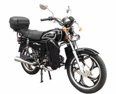 Мотоцикл ZIP MOTORS Alpha lux FK50-C9 (черный, MZMAL110ccBlack)