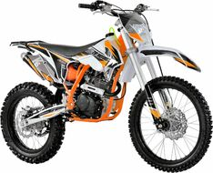 Мотоцикл кроссовый ZIP MOTORS K5 250 (оранжевый)