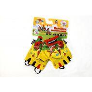 Велоперчатки детские Travel, гелевые вставки, 4XS (желтый, VG942childtravel4)