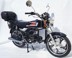 Мопед ZIP MOTORS Alpha 50 (черный)