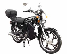 Мопед ZIP MOTORS Alpha lux 50 (черный)