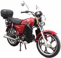 Мопед ZIP MOTORS Alpha lux 50 (красный)