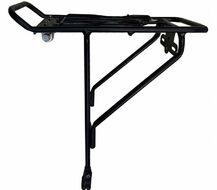 Багажник алюм. для велосипеда с зажимом, крепление на верхние перья
