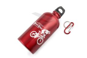 Бутылочка велосипедиста, с карабином (инд. упак.)