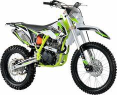 Мотоцикл кроссовый ZIP MOTORS K5 250 (зеленый)
